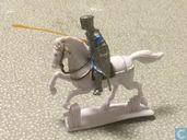 Kruisvaarder te paard