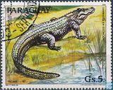 Postzegels - Paraguay - Bedreigde Dieren