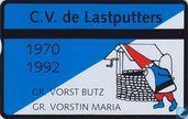 C.V. De Lastputters