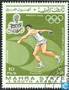 Postage Stamps - Mahra - Olympic Games