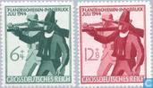 Postage Stamps - German Empire - 7th Tyrolean shooting day