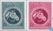 Postzegels - Duitse Rijk - Grote Prijs van Wenen
