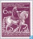 Postzegels - Duitse Rijk - Stadsrechten aan Oldenburg 1344-1944