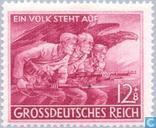 Postzegels - Duitse Rijk - De Volksstorm