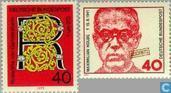Timbres-poste - Allemagne [DEU] - Roswitha von Mannheims Gander et Maximilien Kolbe (BRD 302)