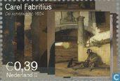 Postage Stamps - Netherlands [NLD] - Carel Fabritius