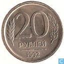 Rusland 20 roebel 1992 (l)