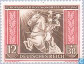 Briefmarken - Deutsches Reich - Europäischer Postkongress