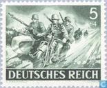Briefmarken - Deutsches Reich - Streitkräfte