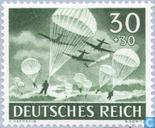 Postzegels - Duitse Rijk - Weermacht