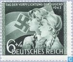 Postage Stamps - German Empire - Youth Day commitments