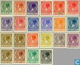 Postage Stamps - Netherlands [NLD] - Queen Wilhelmina [Veth]