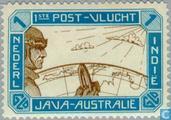 1st post-flight Java-Australia