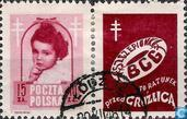 Postage Stamps - Poland - Tuberculosis