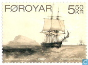 Postage Stamps - Faroe Islands - Old lithographs