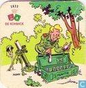 Bierviltjes - België - De Koninck munitie cartoon
