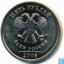 Rusland 5 roebel 2008 (M)