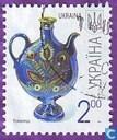 Postzegels - Oekraïne - Wasserflasche (2007)