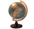 Landkaarten en globes