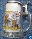 !!VERKEERDE RUBRIEK!! Glazen bierpul, original radlerseidel