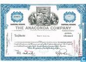 The Anaconda Company, Certificate for less than 100 shares