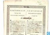 Grootboek Sint-Petersburg, Certificaat 6% Russische Fondsen, 1840
