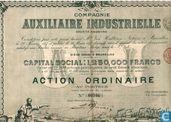 Compagnie Auxiliaire Industrielle, Action Ordinaire, 1897