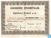 Gooische Stoomtram, Oprichters-aandeel, 1881