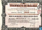 Transports & Force Motrice en Espagne, obligation 500 Francs, 1914