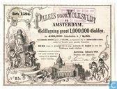 Paleis voor Volksvlijt te Amsterdam, Aandeel f2,50 in geldleening, 1869