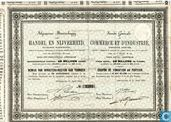 Algemeene Maatschappij voor Handel en Nijverheid, Oprichtersbewijs 1/8000e aandeel, 1863