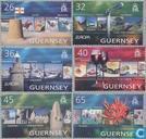 Postzegels - Guernsey - Vakantie