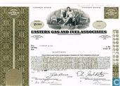 Eastern Gas and Fuel Associates, Certificate for less than 100 shares, Common stock