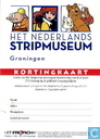 Kortingkaart Het Nederlands Stripmuseum