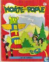 Mokie en Popie en de vulkaan
