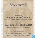 13 Weisser KRAFTSCHÖPFER Weisser Tee - Kräutermischung | White SOURCE OF STRENGHT White Tea - Herbal Mixture