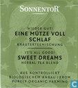 8 Wieder Gut ! EINE MÜTZE VOLL SCHLAF Kräuterteemischung | It's All Good ! SWEET DREAMS Herbal Tea Blend