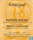18 SONNIGE GRÜSSE Kräuter-Früchteteemischung   HELLO SUNSHINE Herbal-Fruit Tea Blend