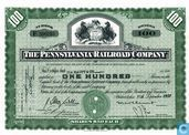 The Pennsylvania Railroad Company, Certificate for 100 shares, Capital stock
