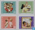 Postage Stamps - Switzerland - Children's rights - Pro Juventute