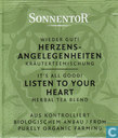 16 Wieder Gut ! HERZENS-ANGELEGENHEITEN Kräuterteemischung | It's All Good ! LISTEN TO YOUR HEART Herbal Tea Blend