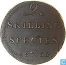 Norway 2 skilling 1833