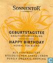 19 GEBURTSTAGSTEE Kräuterteemischung   HAPPY BIRTHDAY Herbal Tea Blend