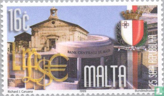 Malta - Republiek 25 jaar