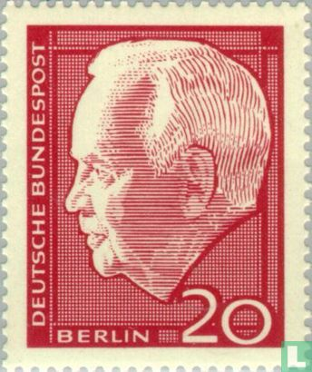 Berlin - Lübke, Heinrich-Wahl