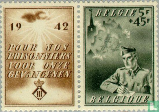 Belgium [BEL] - For Belgian prisoner of war