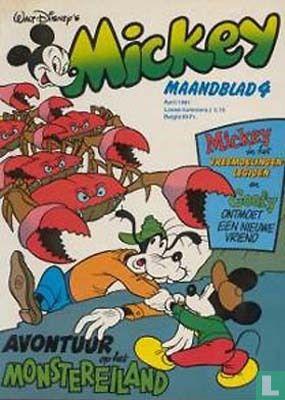 Ark van Zoo, De - Mickey Maandblad 4