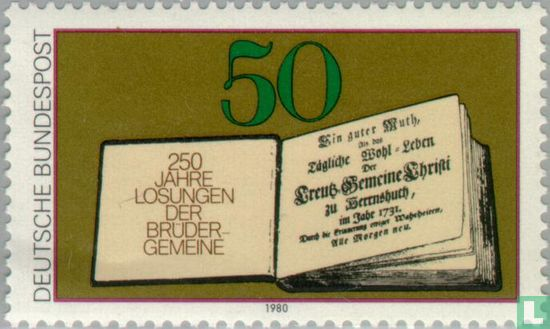 Germany [DEU] - Losungsbuches, 250th edition