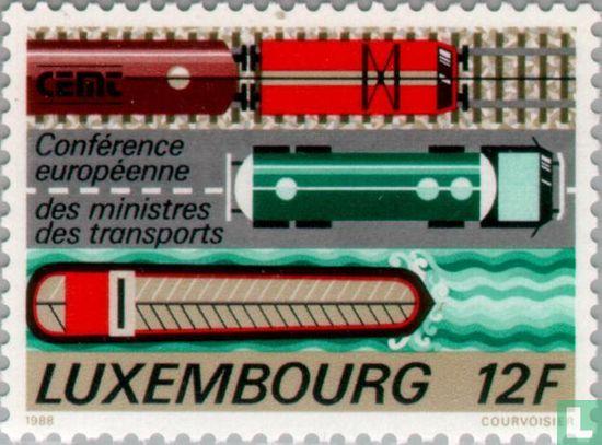 Luxemburg - Europäischen Verkehrsminister-Konferenz