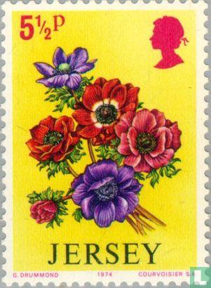 Jersey - Bloemen